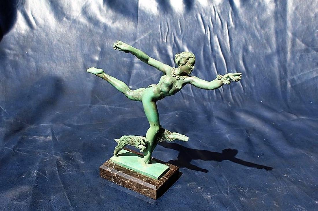 Original Art Deco Figure
