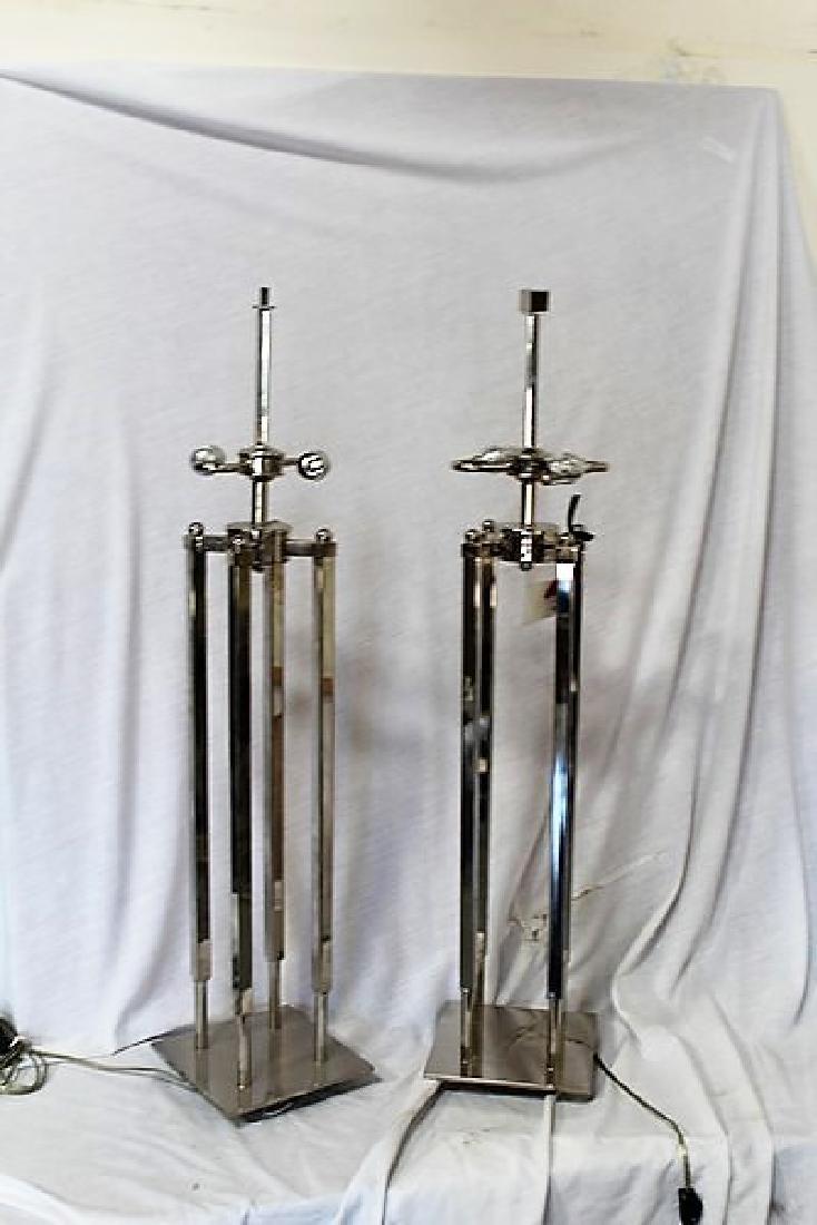 Art Deco Modern Table Lamps (Pair)