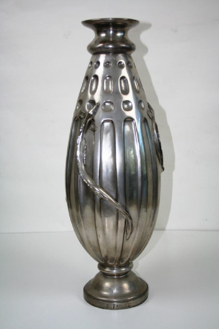 Bronze Salamander Vase