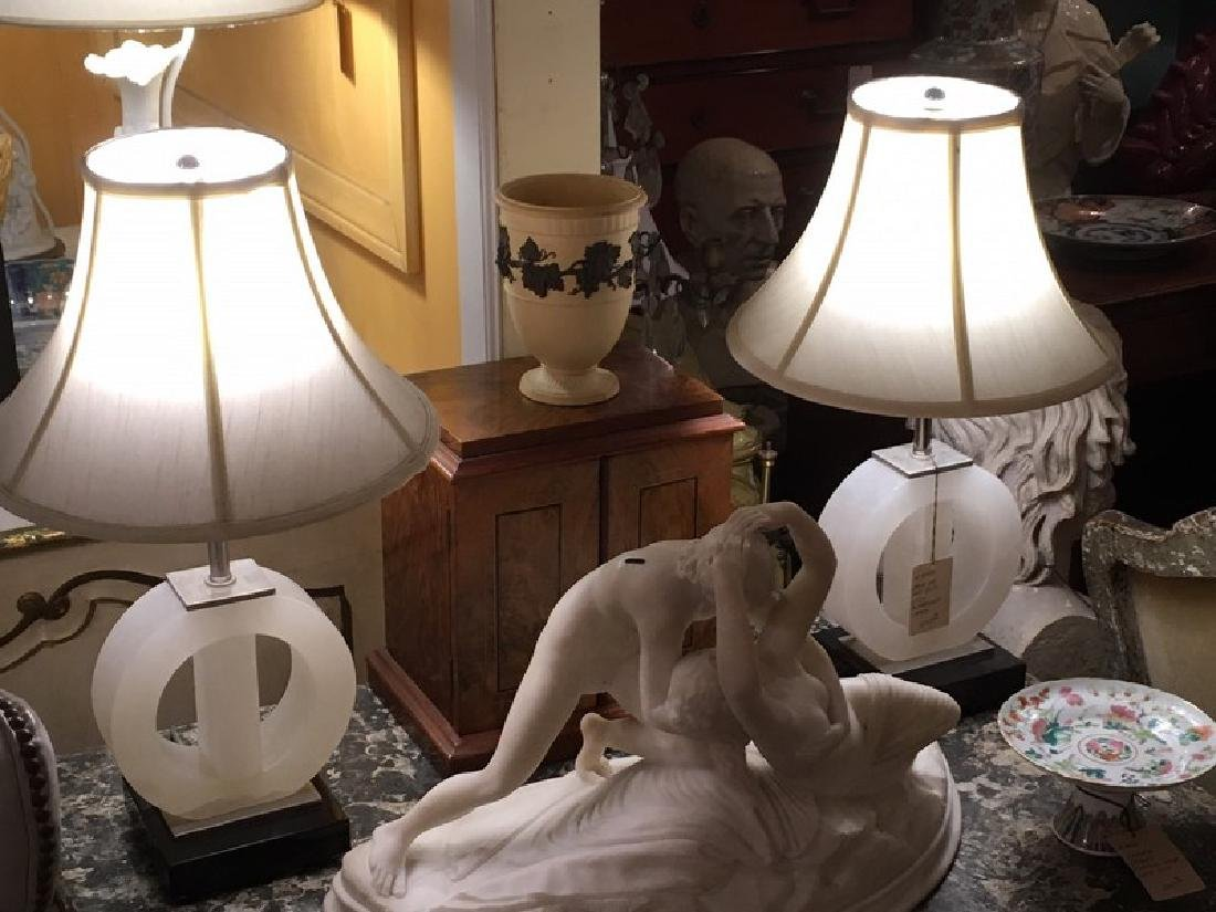 Art Deco Style Table Lamps (Pair)
