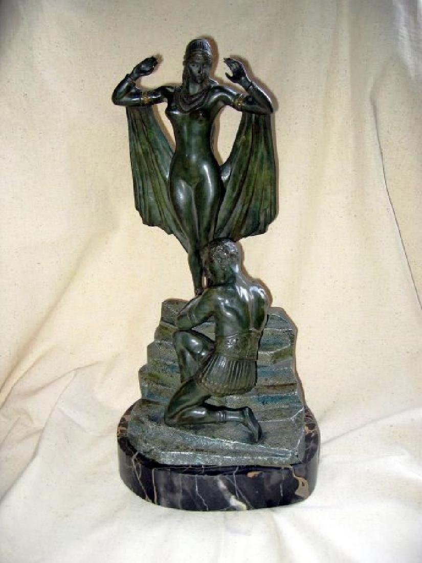 Antique Bronze Sculpture.
