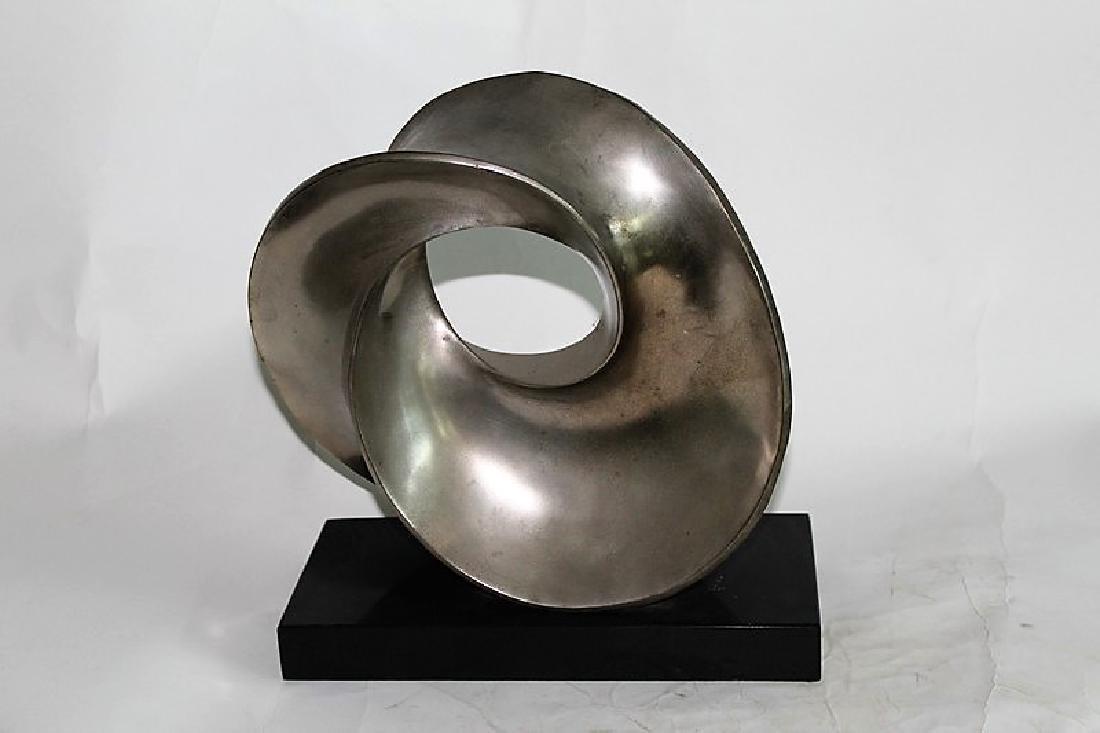 Classic Modern/Deco Sculpture Titled The Eternal Circle