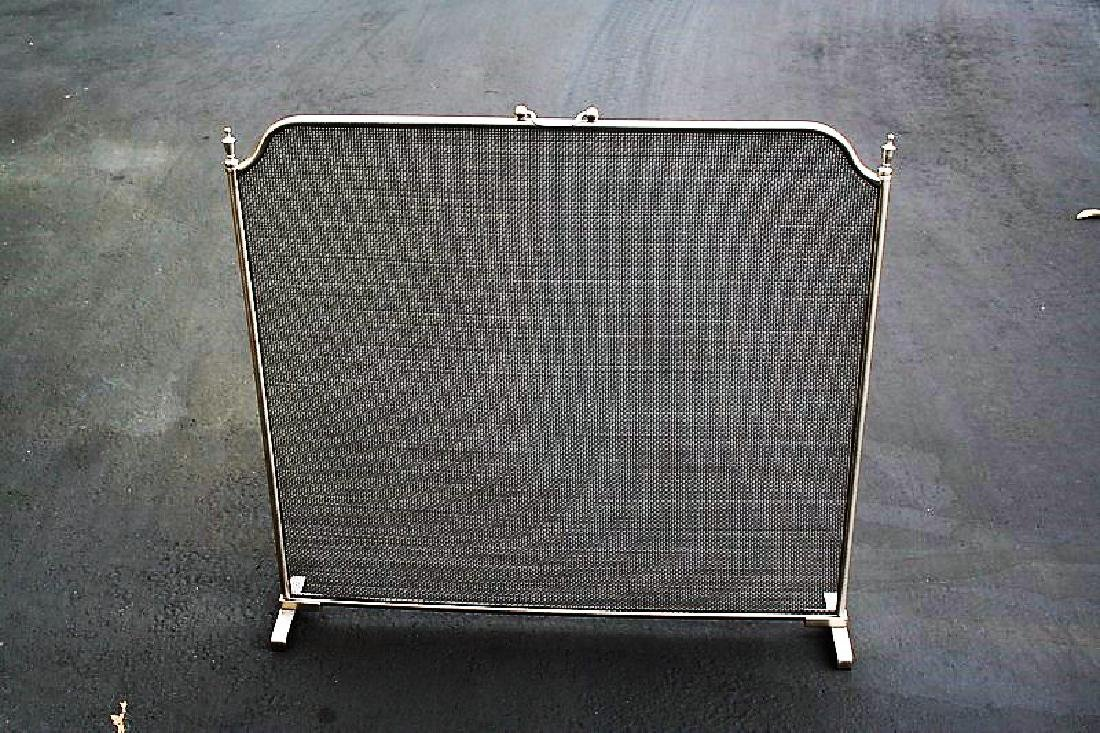 Modern Design All Metal Fire Screen