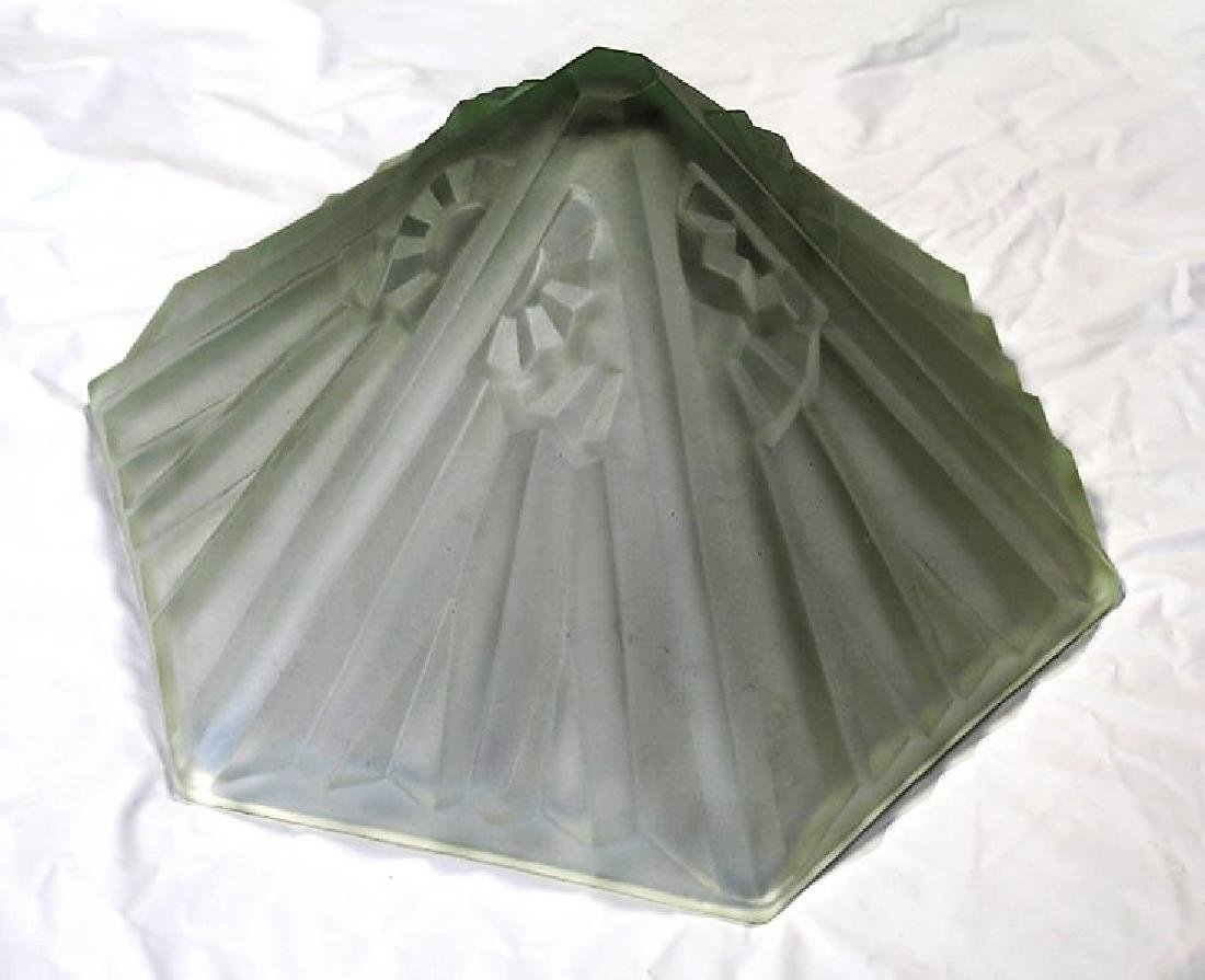 Art Deco Glass Shade