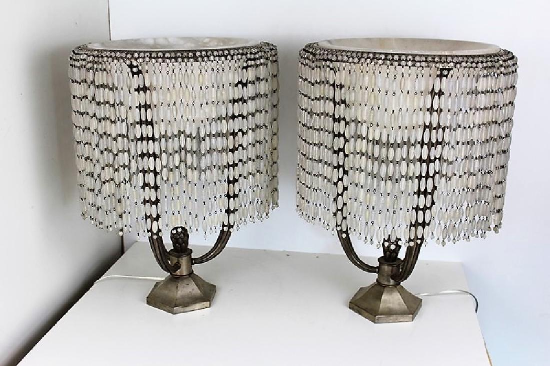 Art Deco Style Ruhlman Table Lamps (Pair)