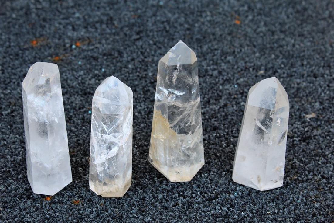 Brazilian Rock Crystal Points (4)