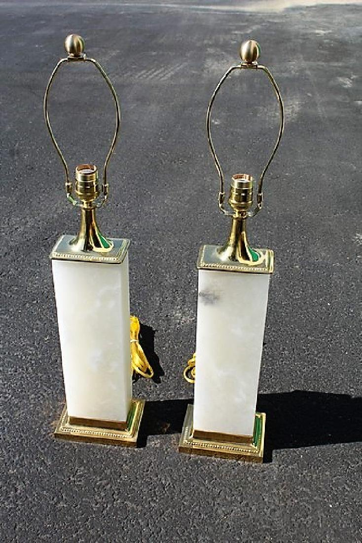 Art Deco/Modern Style Table Lamps (Pair)