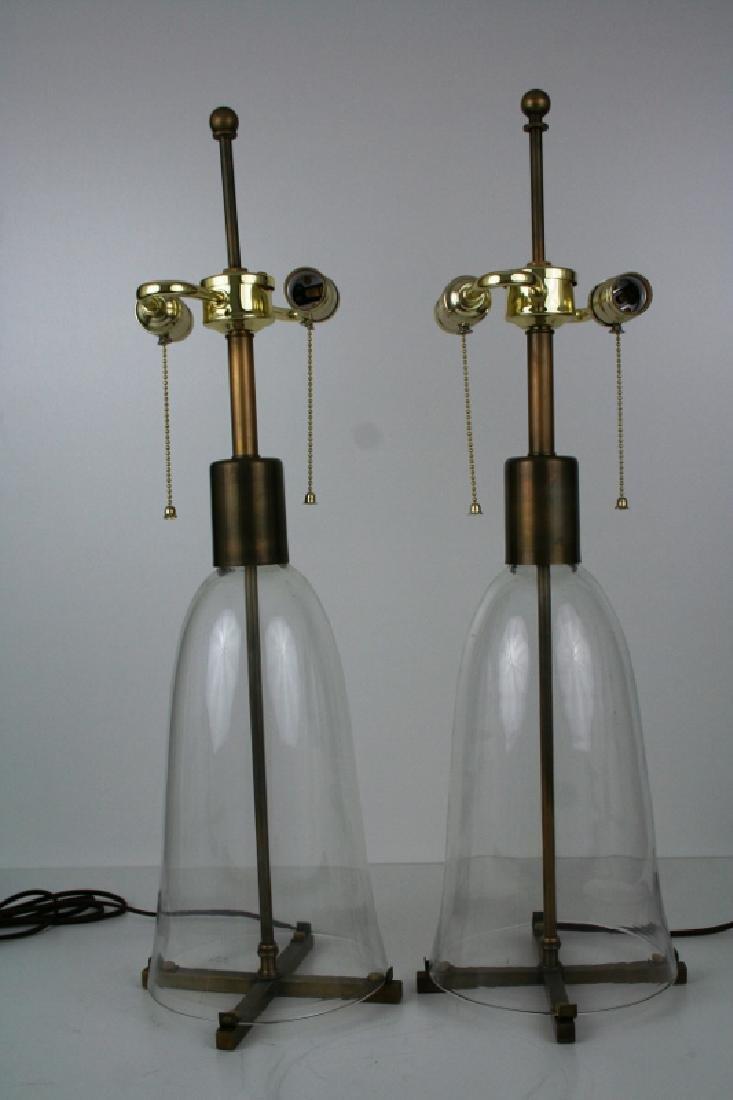 Hurricane Shade Lamps (Pair)