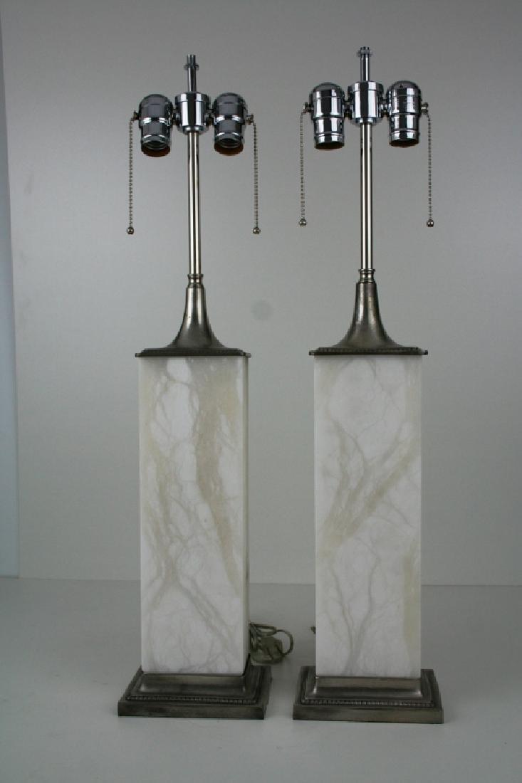 Art Deco/Modern Style Lamps (Pair)