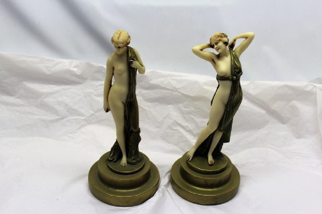 Art Deco Figurines (Pair)