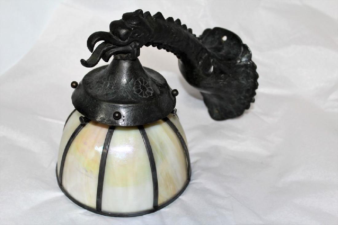 Art Nouveau Style Bronze Sconce