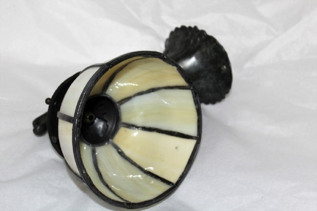 Art Nouveau Style Bronze Sconce - 3