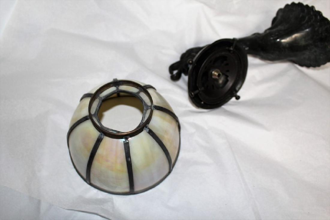 Art Nouveau Style Bronze Sconce - 4