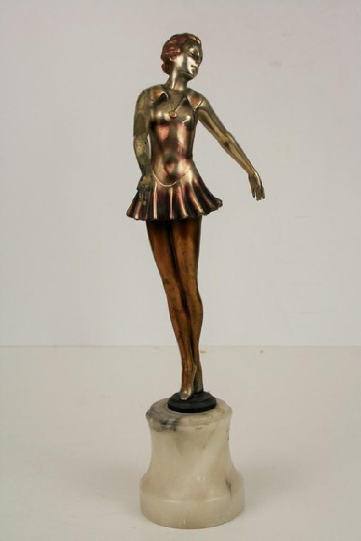 Art Deco Antique Ballerina Figurine