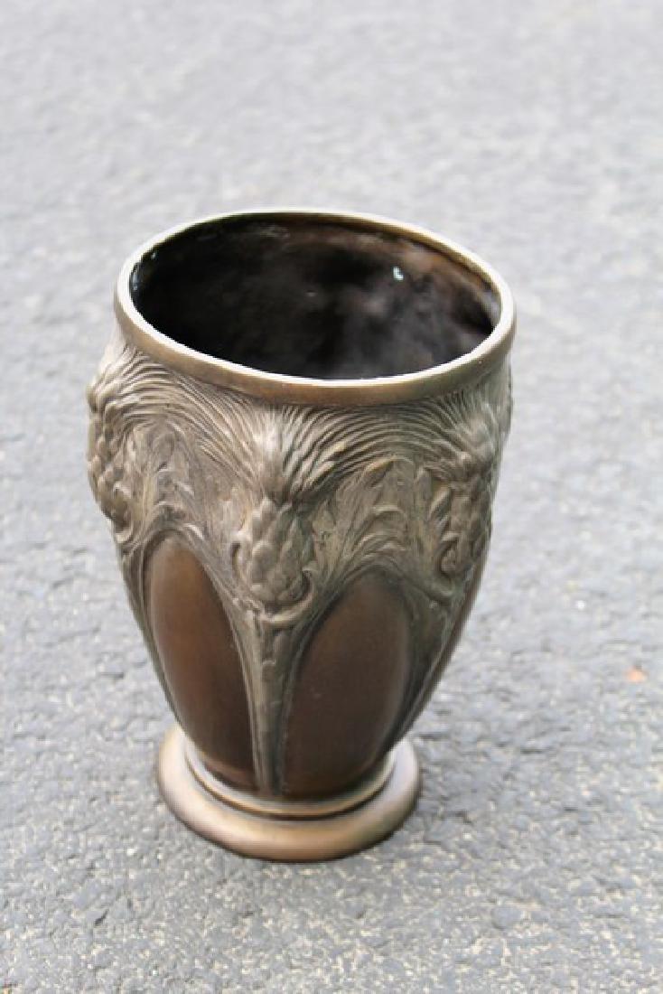 Bronze Art Vase