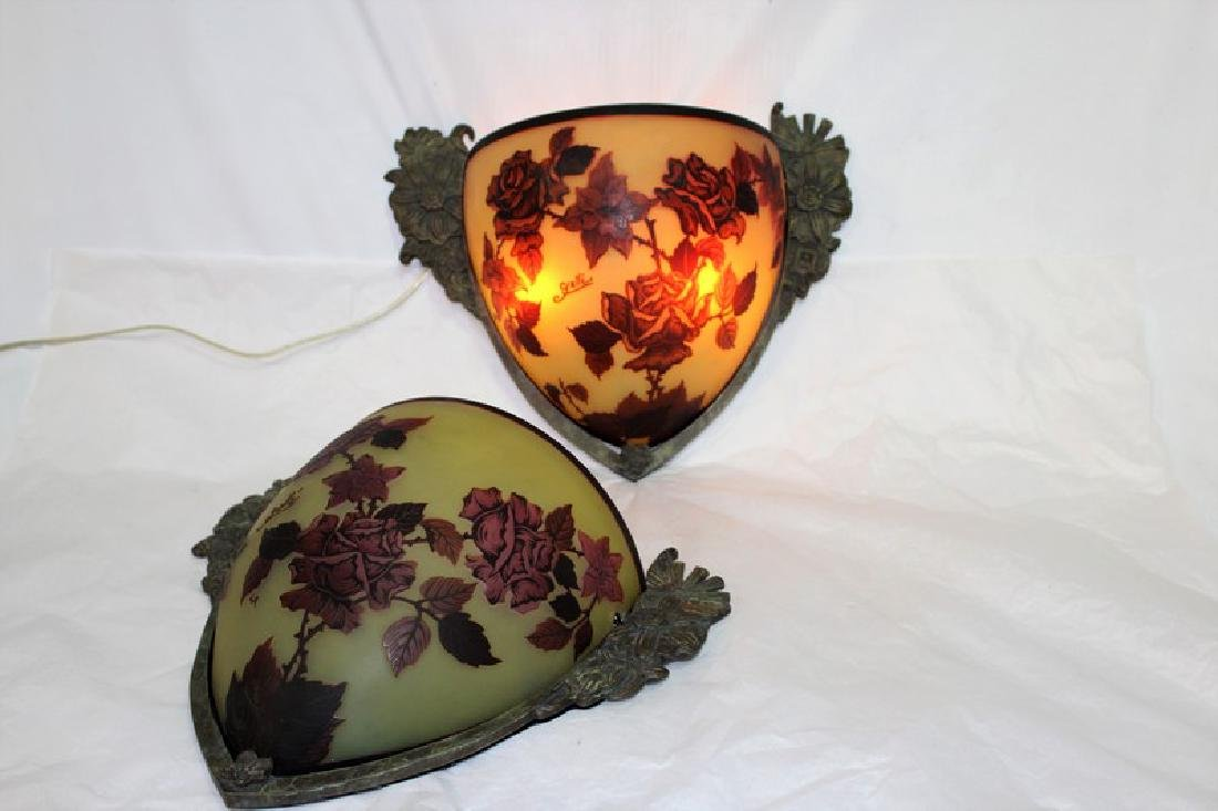 Galle Style Sconces (Pair)