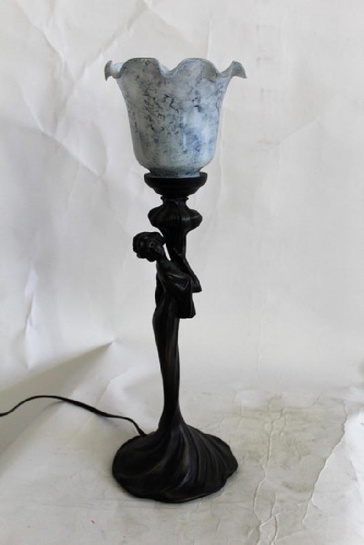 Art Nouveau Style Lady Lamp