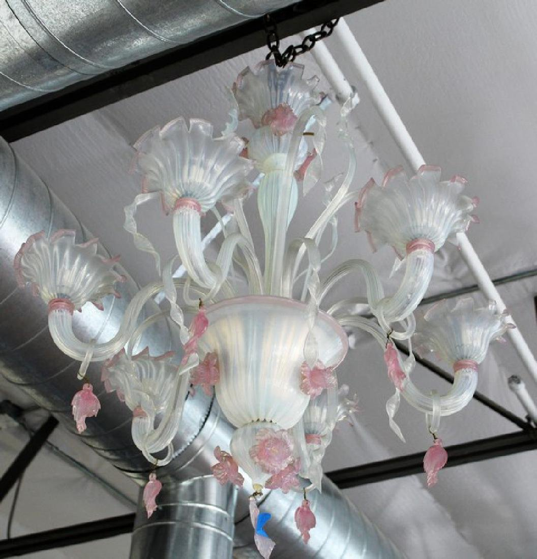 Murano Venetian Glass Chandelier