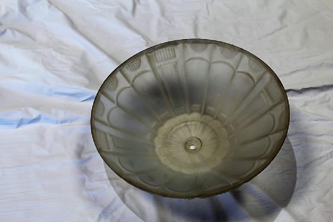 Art Deco Glass Shade - 2