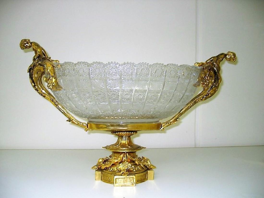 Crystal bowl Centerpiece