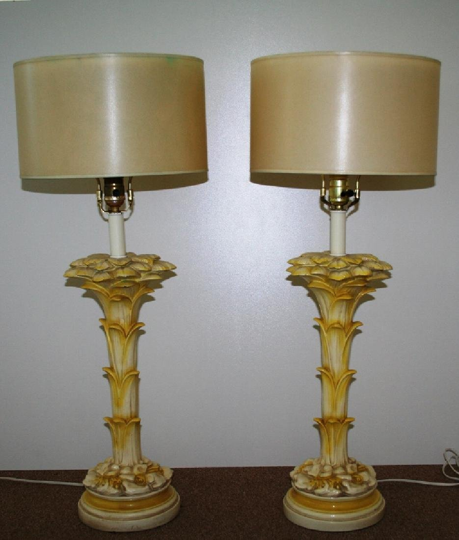 Original Pair of Serge Roche Table Lamps