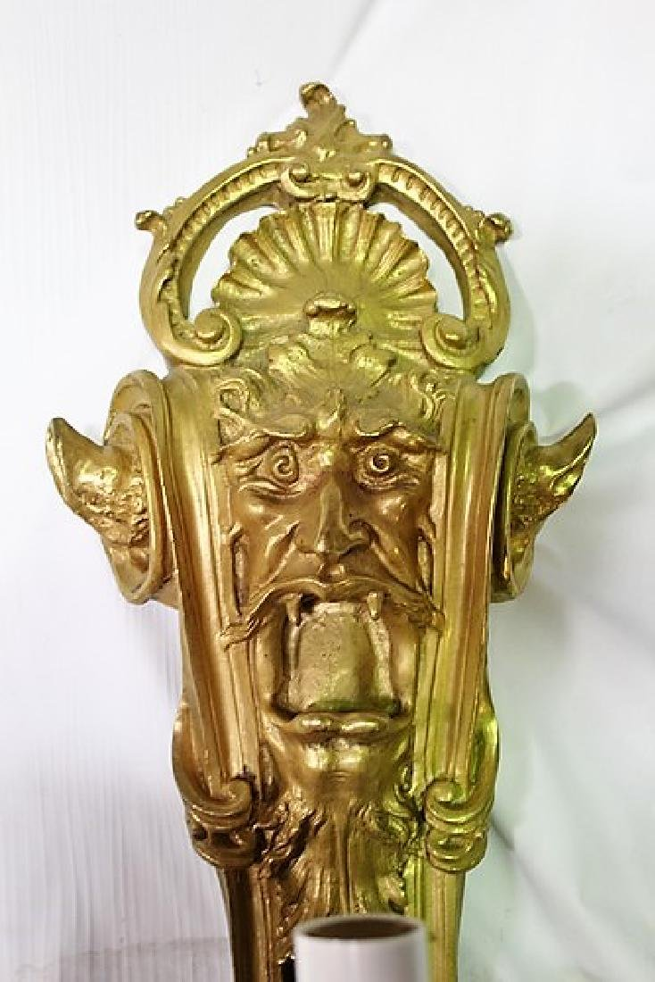 Gothic Style Wall Sconce - 2