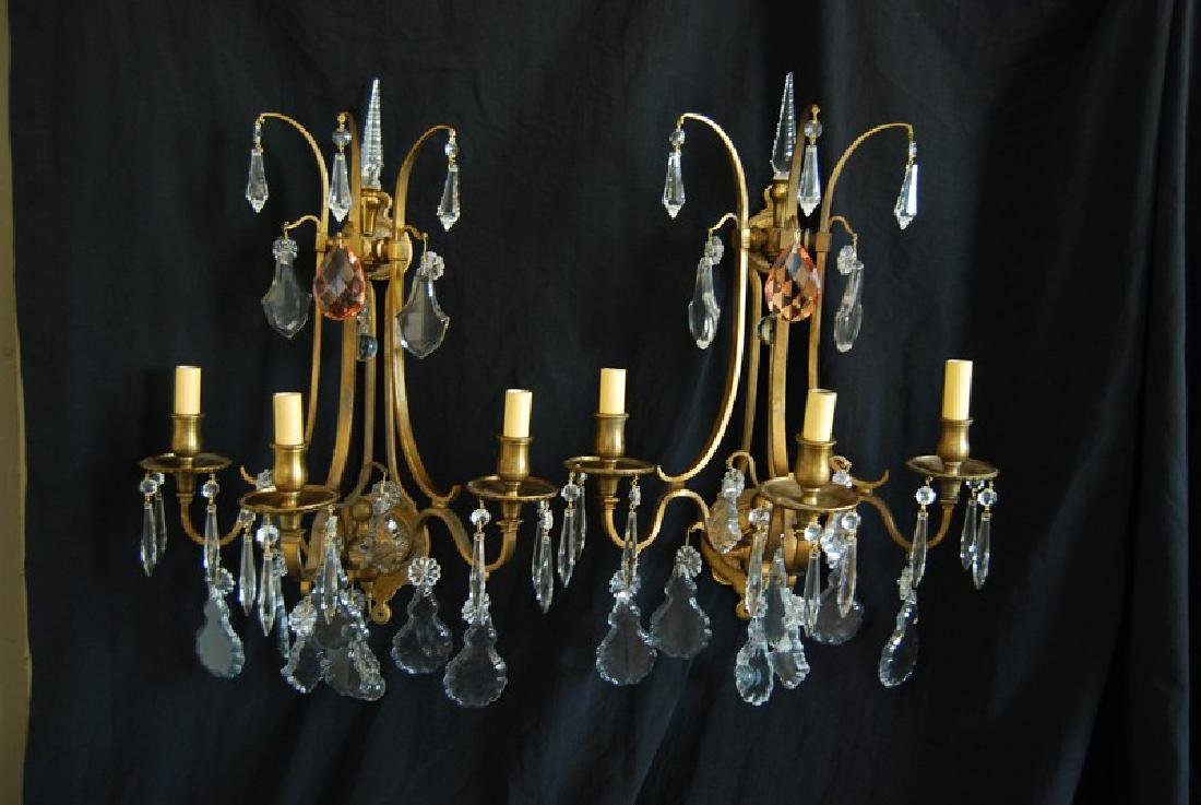 Antique French Wall Sconces (Pair)