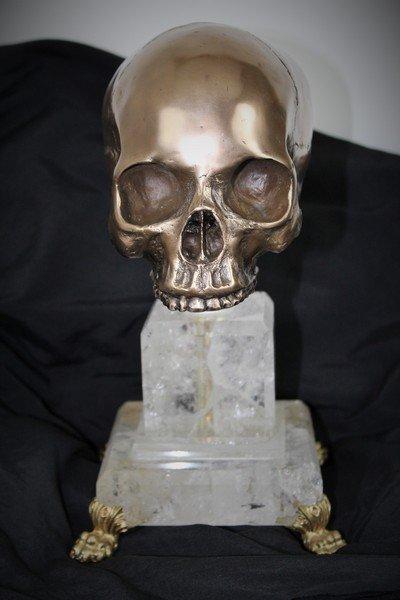 Skull on Crystal