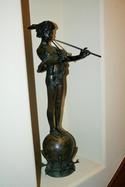 "Original Bronze Figurine ""Pan of Rohallion"""