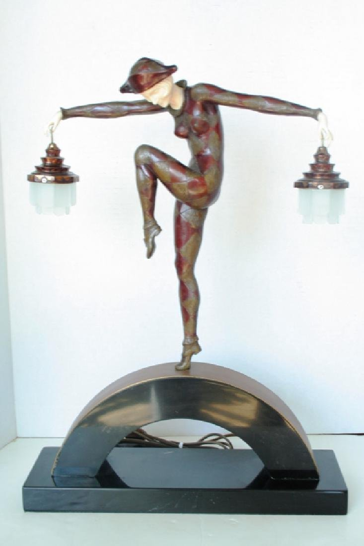 Female Harlequin Lamp