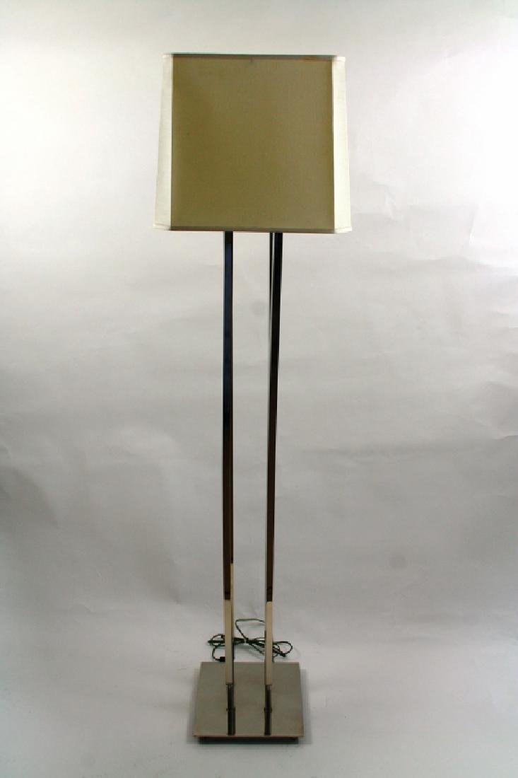 Modern Style Nickel Floor Lamp
