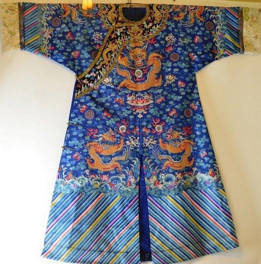 Overcoat of Qing dynasty empero