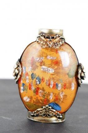 Old Crystal Snuff Bottle