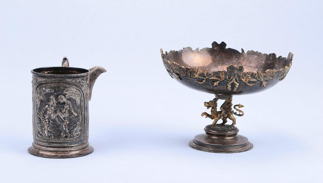 Two Pieces of Chinese Silver Wares