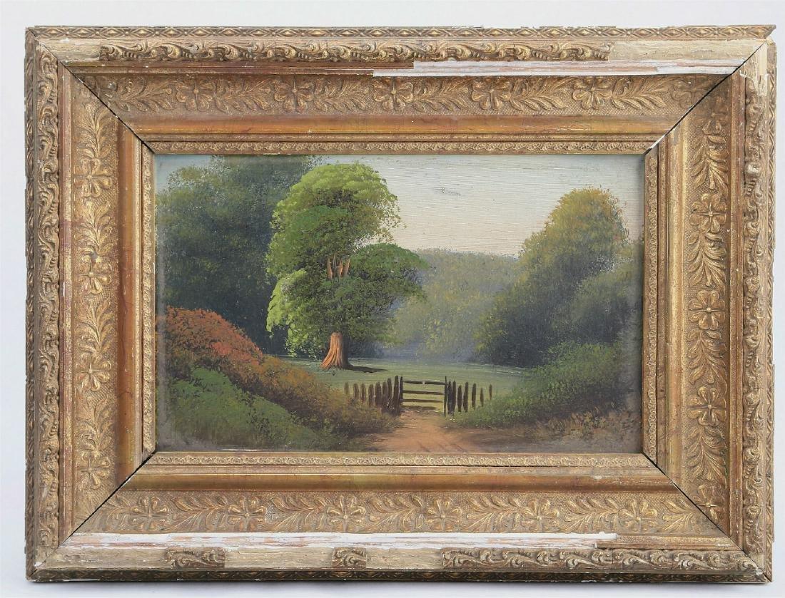 A Landscape Oil Painting