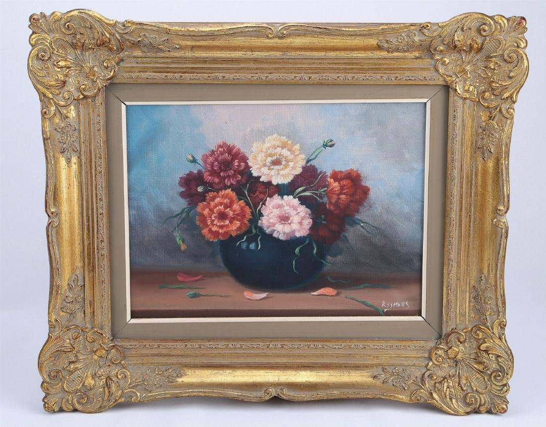 A Rose Oil Painting
