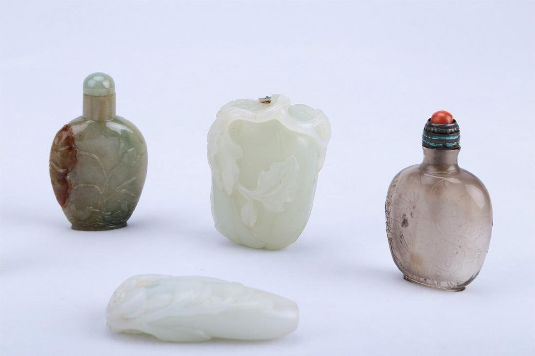 A Set of Five Pieces Chinese Snuff Bottle - 2
