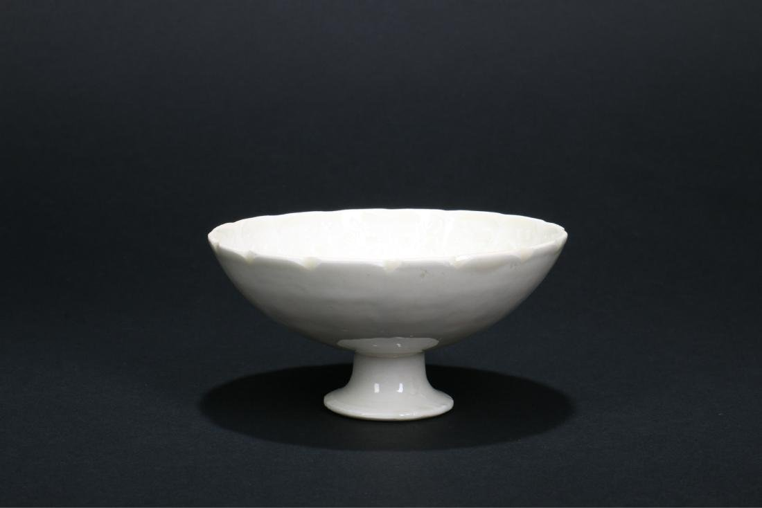 A Chinese Ding-Type Porcelain Bowl