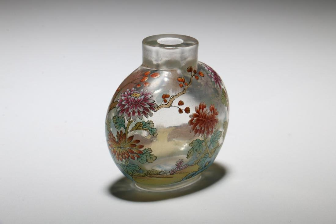 A Chinese Peking Glass Snuff Bottle - 3