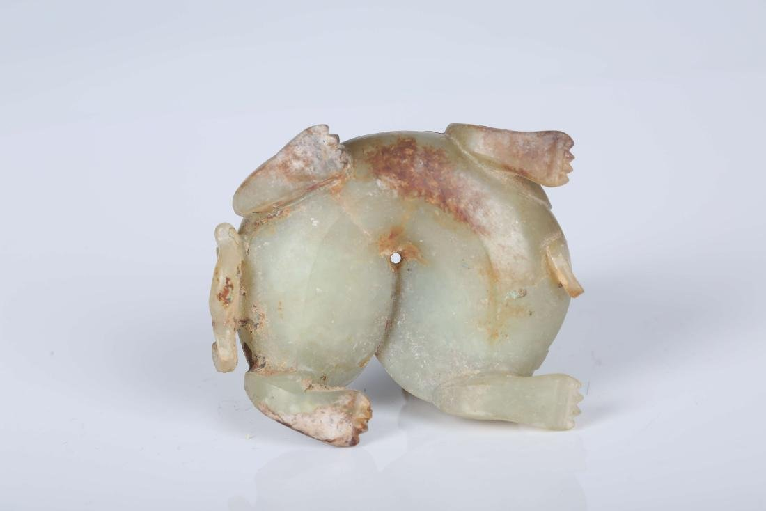 A Chinese Carved Jade Foo-Dog - 5