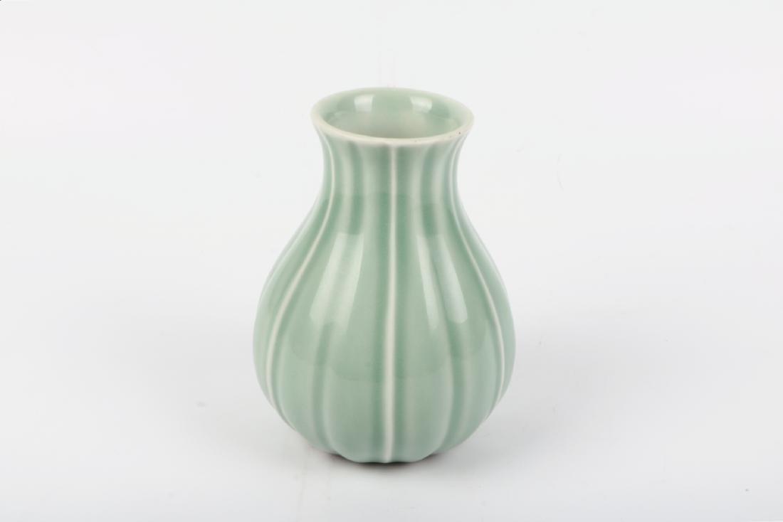 A Chinese Celadon Porcelain Vase - 2