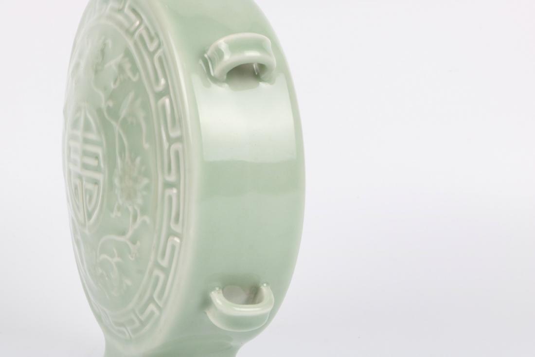 A Chinese Celadon Porcelain Vase - 10