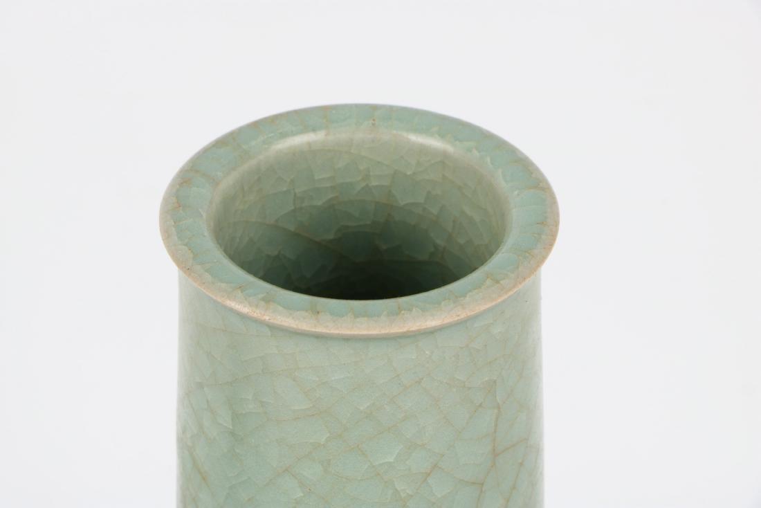 A Chinese Celadon Porcelain Vase - 3