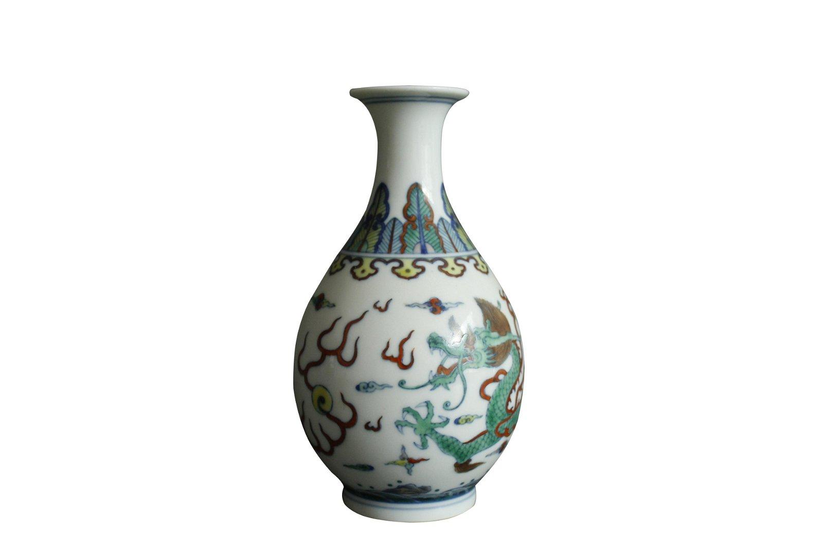 A Chinese Dou-Cai Porcelain Vase