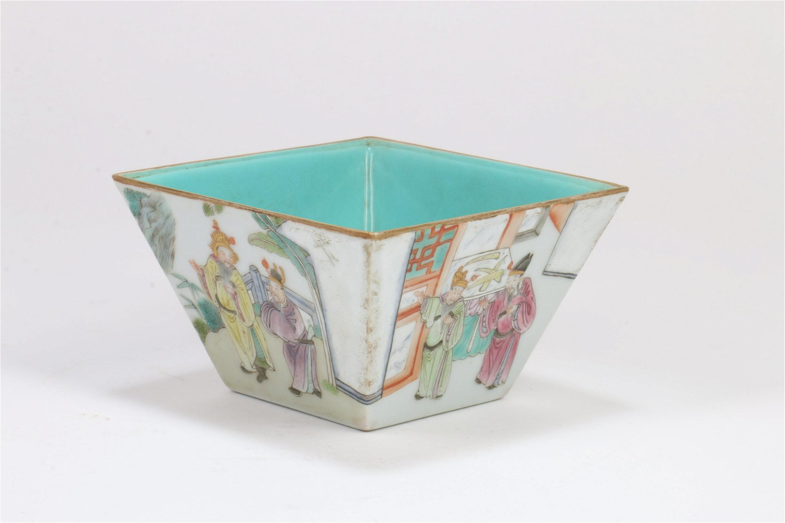 A Chinese Famille-Rose Porcelain Cup