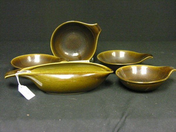846: 5 PIECE RUSSEL WRIGHT CHINA
