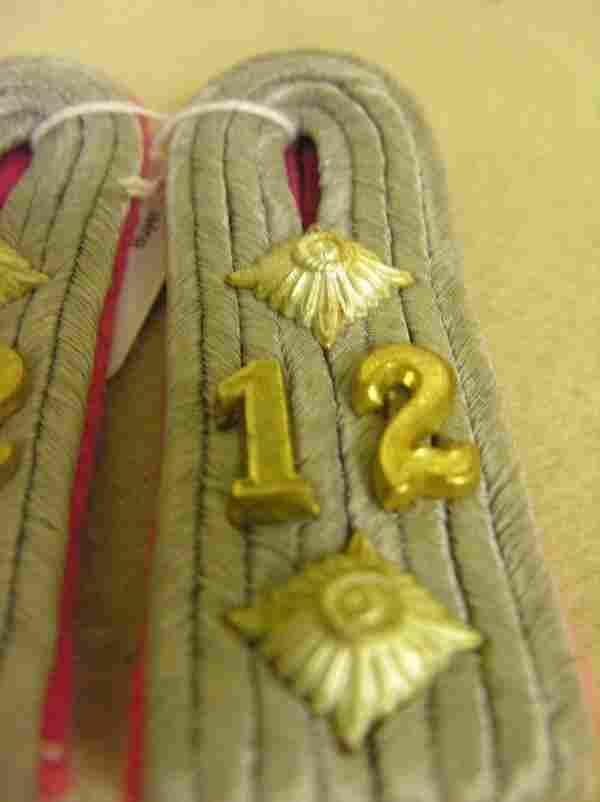 WWII GERMAN MILITARY SHOULDER BOARDS