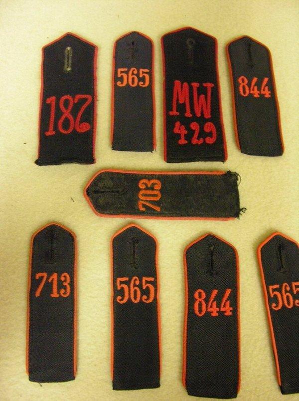 1012: WWII GERMAN MILITARY SHOULDER BOARDS