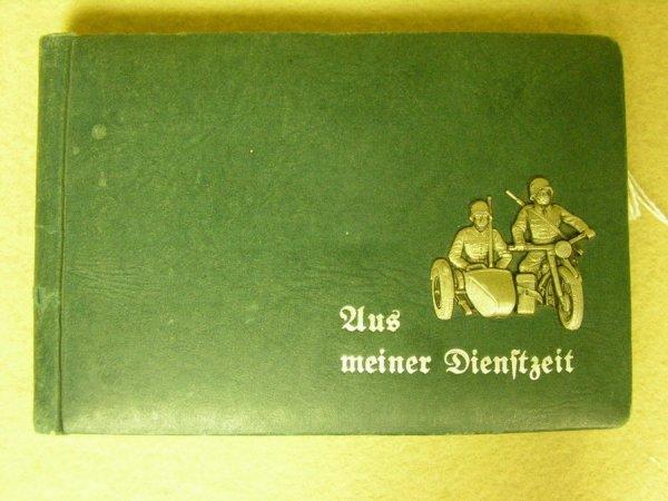 1031: WWII GERMAN MOTORCYCLE PHOTO ALBUM