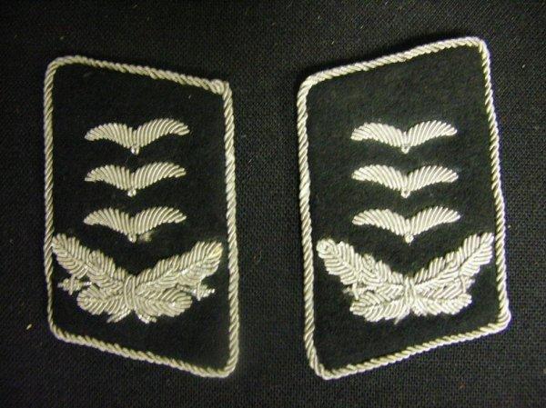 1050: WWII GERMAN LUFTWAFFE COLLAR TABS